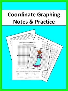 Coordinate Graphing Notes and Practice