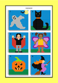 Coordinate Graphing - Ordered Pairs - Hidden Picture - Halloween