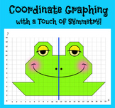 Coordinate Graphing - Ordered Pairs on a Single Quadrant C