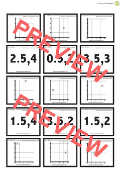 Find the pair! Coordinates Graphing Starter Activity