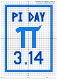 Pi Day Mystery Picture (4 Quadrants)