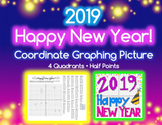 Coordinate Graphing Picture - 2019 NEW YEAR, HAPPY NEW YEAR