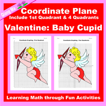 Coordinate Graphing Picture: Baby Cupid