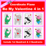 Valentine Coordinate Graphing Picture: Be My Valentine Bun