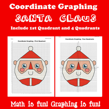 Coordinate Graphing Picture: Bundle 6 in 1