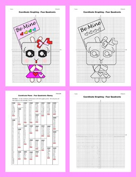 Coordinate Graphing Picture: Bunny