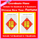 Coordinate Graphing Picture: Chinese New Year Bundle 5 in 1