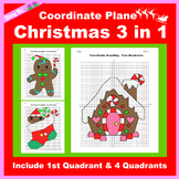 Christmas Coordinate Graphing Picture: Christmas Bundle 3 in 1
