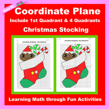 Coordinate Graphing Picture: Christmas Stocking