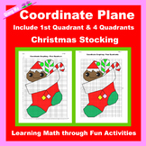 Christmas Coordinate Graphing Picture: Christmas Stocking