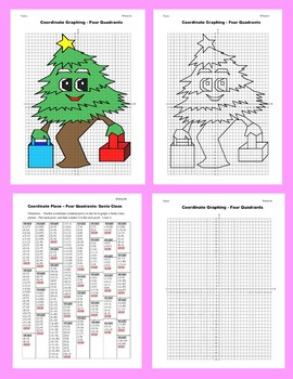 Coordinate Graphing Picture: Christmas Tree