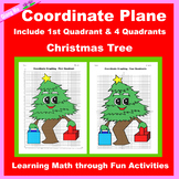 Christmas Coordinate Graphing Picture: Christmas Tree