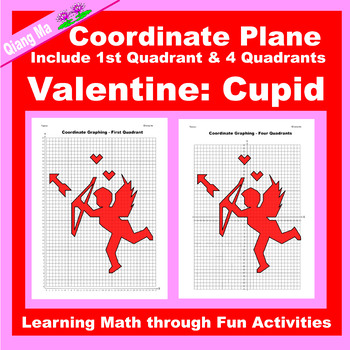 Coordinate Graphing Picture: Cupid