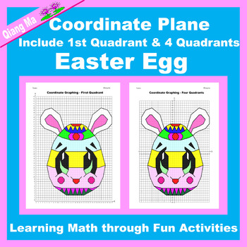 Coordinate Graphing Picture: Easter Egg