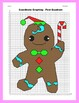 Coordinate Graphing Picture: Gingerbread Man