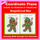 Christmas Coordinate Graphing Picture: Gingerbread Man