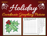 Coordinate Graphing Picture - HOLIDAY, WINTER