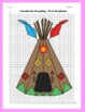 Coordinate Graphing Picture: Indian Tepee