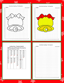 Coordinate Graphing Picture:Jingle Bell