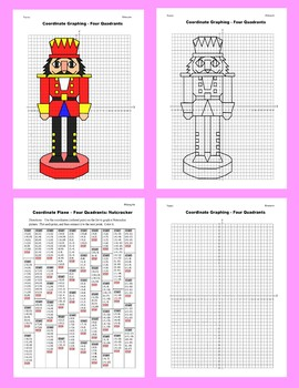 Coordinate Graphing Picture: Nutcracker