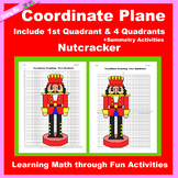 Christmas Coordinate Graphing Picture: Nutcracker