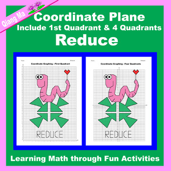 Coordinate Graphing Picture: Reduce