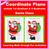 Christmas Coordinate Graphing Picture: Santa Claus