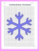 Coordinate Graphing Picture: Snowflakes (1)