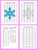 Coordinate Graphing Picture: Snowflakes (2)