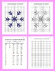 Coordinate Graphing Picture: Snowflakes (5)