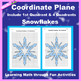 Coordinate Graphing Picture: Snowflakes Bundle 5 in 1