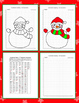 Coordinate Graphing Picture:Snowman