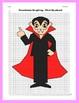 Halloween Coordinate Graphing Picture: Vampire