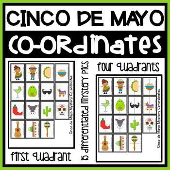 Coordinate Graphing Pictures | Ordered Pairs Mystery Pictures | Coordinate Plane