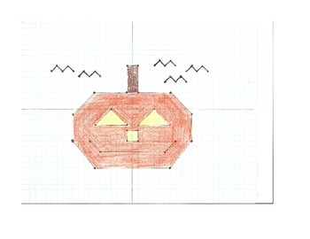 Coordinate Graphing Pumpkin