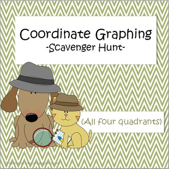 Coordinate Graphing - Scavenger Hunt
