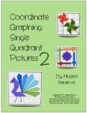 Coordinate Graphing Single Quadrant Pictures Part 2