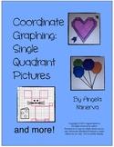 Coordinate Graphing Single Quadrant Pictures
