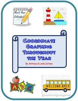 Coordinate Graphing Throughout the Year Mystery Picture