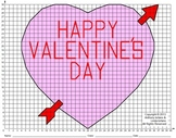 Valentine, Heart, Coordinate Drawing, Coordinate Graphing
