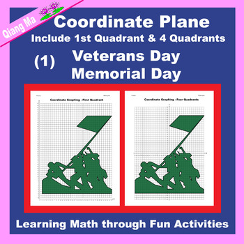 Coordinate Graphing: Veterans Day/Memorial Day (1)