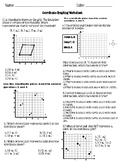 Coordinate Graphing Worksheets Set #3