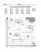 Coordinate Graphing Worksheets Set 4, Winter Holidays