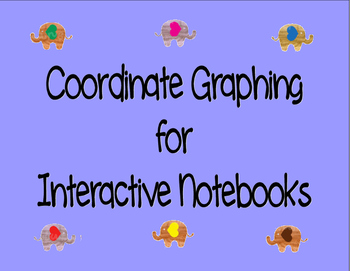 Coordinate Graphing for Interactive Notebooks