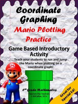 Coordinate Graphing in Quadrant I