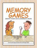 Coordinate Graphs Memory Games