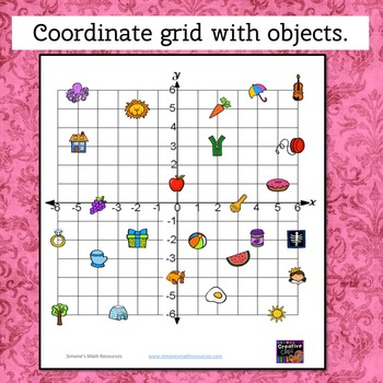 Coordinate Grid 4 Quadrant  I have who has