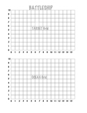 Coordinate Grid Battleship (1 Quadrant)