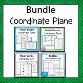 Coordinate Plane Four Quadrants Bundle