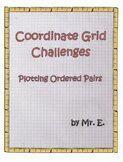 Coordinate Grid Challenges; Plotting Ordered Pairs